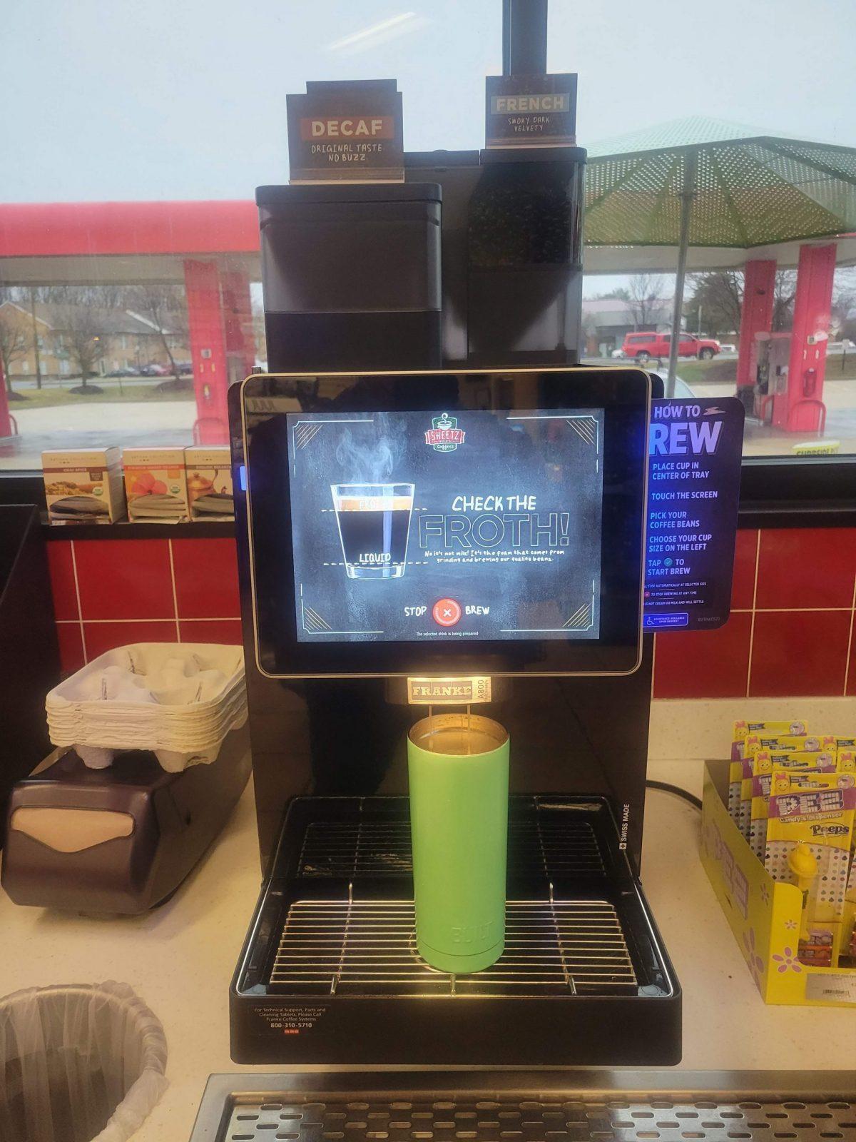 Sheetz Coffee Machine